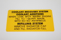 Coolant Recovery System 73 Chrysler 400