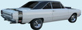 "1969 Dodge Dart ""GT Sport"" GTS Bumble Bee Stripe Kit"