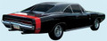 1970 Charger Bumble Bee Stripe Kit