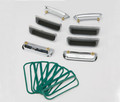 71 Cuda Fender Gills (Set of 8)