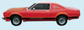 1976-77 Road Runner Decal & Stripe Kit