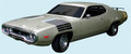 1972 Roadrunner GTX Decal & Hood-to-Fender Strobe Stripes Kit