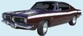 1969 Barracuda Stripe Upper Kit