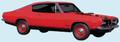 1969 Barracuda Stripe Lower Kit