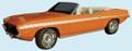 1970 Barracuda Mid-Body Strobe Stripe Kit