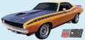 1970 AAR Cuda Side Stripe Kit