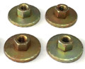 Bench Seat Mounting Seat Nuts 4 Piece Kit