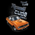 T-Shirt Plymouth Cuda