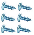 Glovebox Screw Kit 67-76 A Body Exc. 67 Cuda 64-65, 70 B Body 70-74 E Body 6pcs