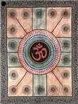Om Tapestry/Bedspread - Twin Size