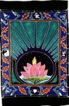 Lotus Wallhanging