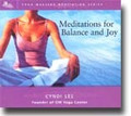 MEDITATION FOR BALANCE AND JOY  (CD)