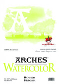 Arches Watercolour Pad - 185gsm - A3 Rough