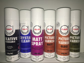 Nuart Aerosol Matt Spray Varnish 400g - In store pick up only