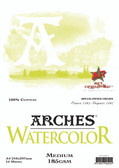 Arches Watercolour Pad - 185gsm - A4 Medium - CLEARANCE SALE!! While stocks last