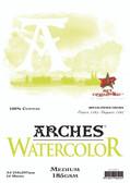 Arches Watercolour Pad - 185gsm - A4 Medium