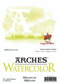 Arches Watercolour Pad - 185gsm - A5 Medium