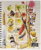 "Lang Spiral Bound ""Painterly""  Sketch Book - 176 pages"
