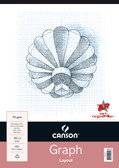 Canson Graph Pad A4 70gsm - 40 sheets - CLEARANCE SALE!! While stocks last