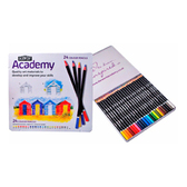 Derwent Academy Colour Pencils - Tin of 24