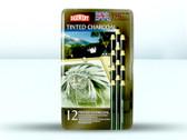 Derwent Tinted Charcoal - Tin 12