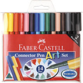 Faber-Castell Pen Art Set - Set 14 Connector Pens