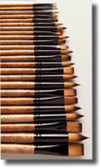Renoir Synthetic Brush - Round Profile - Various Sizes - CLEARANCE SALE!! While stocks last