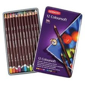 Derwent Coloursoft - Tin of 12