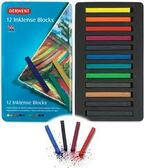 Derwent Inktense Blocks - Tin of 12