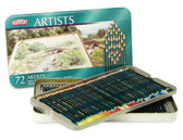 Derwent Artist - Tin 72 - CLEARANCE SALE!! While stocks last