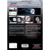 Harder & Steenbeck  - Skull 2 Stencil Set