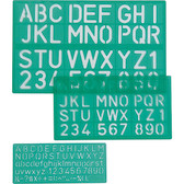 Linex Lettering Stencils