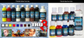 Trident Water Based Airbrush Paint 250ml - CLEARANCE SALE!!!! While stocks last