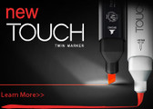 Touch Black Twin Marker - Various Colours