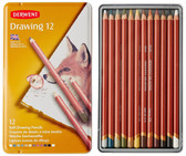 Derwent Drawing Pencils - Tin of 12 - CLEARANCE SALE!! no exchange or refund on clearance items