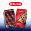 Derwent Pastel Pencils - Tin of 12 - CLEARANCE SALE!!! No exchange or refund on clearance items