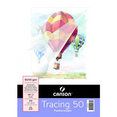 Canson Tracing Pad 50/55gsm A4
