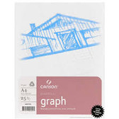 Canson Graph Pad - A4 70gsm - 25 sheets - CLEARANCE SALE!!!! While stocks last