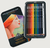 Prismacolour Premier Coloured Pencils - Set 12 with special bonus of 2 Art Stix.