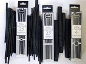 Coates Willow Charcoal Thin Sticks - 3mm to 4mm Box 10