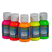 Trident Artist Airbrush Paints 50ml - Fluorescent Colours - CLEARANCE SALE!!!  While stocks last