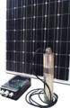 solar pump with solar panels