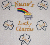 Grandma Sweatshirt - Lucky Charms - Pot of Gold Design