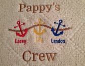 Grandpa Sweatshirt - Pappy's Crew Design