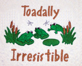 Baby Blanket - Toadally Irresistible Design Sample