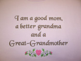 Grandma Sweatshirt - Great Grandmother Design