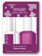 Essie Gel + Lacquer - flowerista gel & enamel duo #901