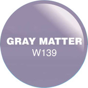 WaveGel Matching S/O Gel & Nail Lacquer - Gray Matter .5 oz WG139
