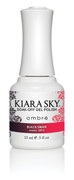 Kiara Sky Ombre Color Changing Gel Polish,  Black Swan .5oz G812