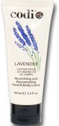 Codi, Hand & Body Lotion, Lavender 3.3 oz - 100 ml